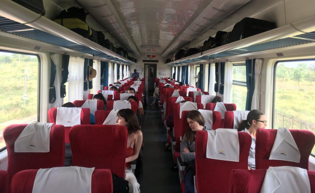 Kenya SGR First Class Seats