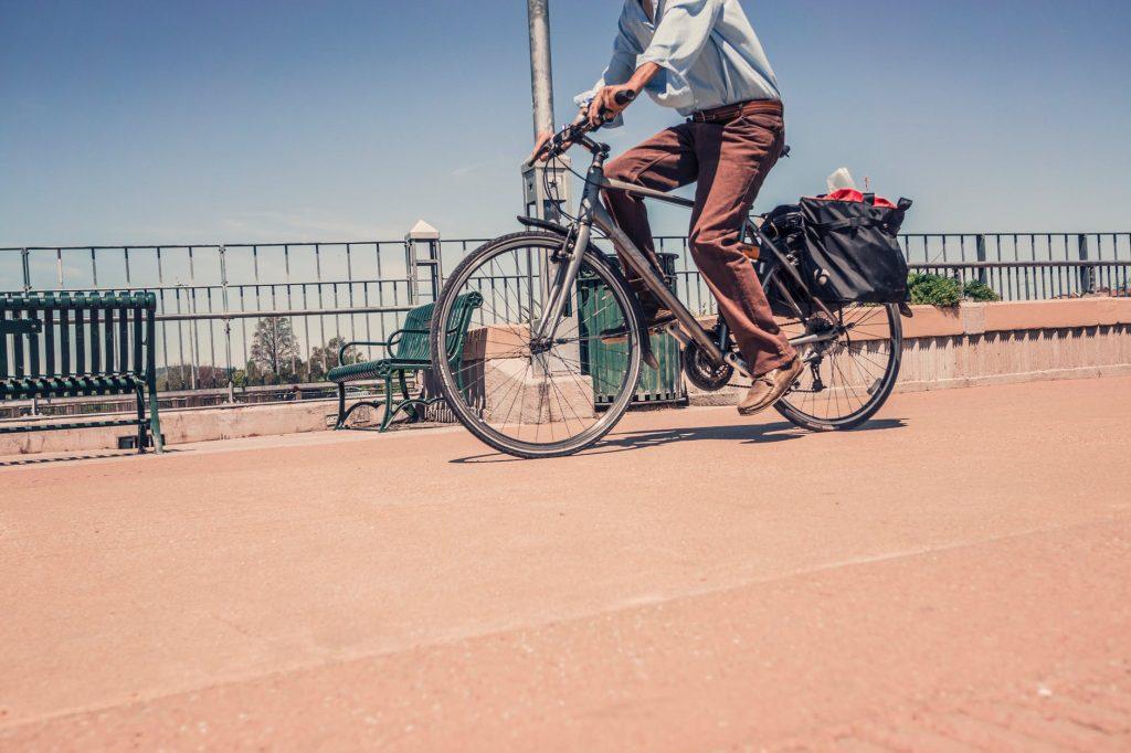 Cycling in Nairobi