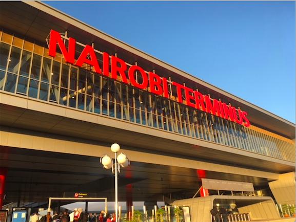 Nairobi SGR Train Station