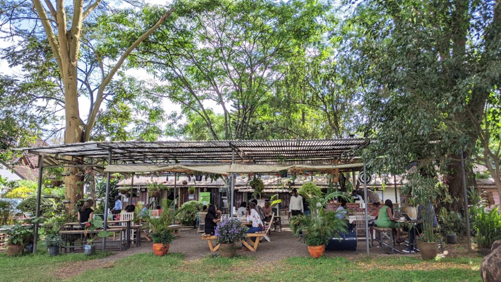 Pallet Cafe restaurant Nairobi
