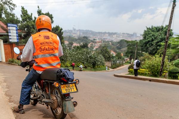 motorbike taxi in Nairobi