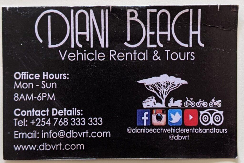 Diani Beach Rentals